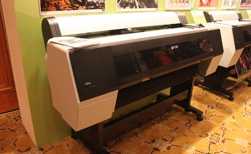 Operation methods and techniques of large format color inkjet printer